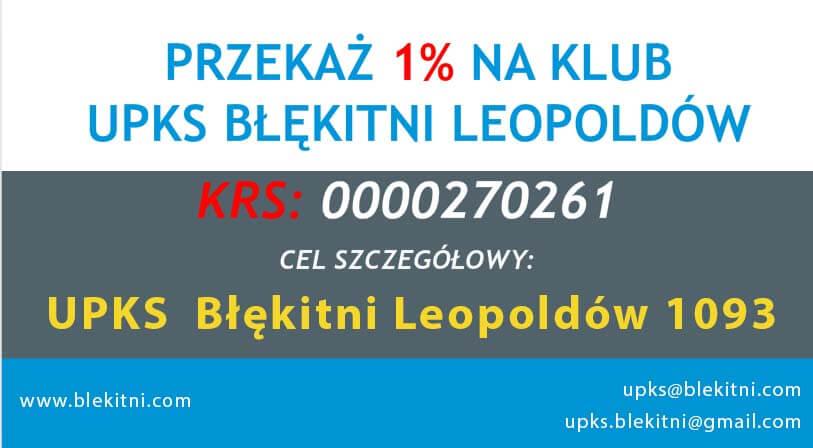 Przekaż 1% dla Błękitnych!